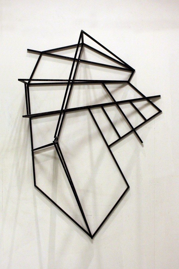 Vertical landscape  [Wood construction. 156 x 106 x 49 cm. 2011.]