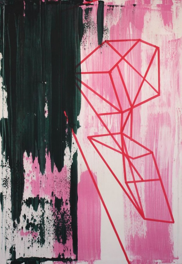 Something i left behind  [Acrylic on canvas. 84 x 120 cm. 2012.]