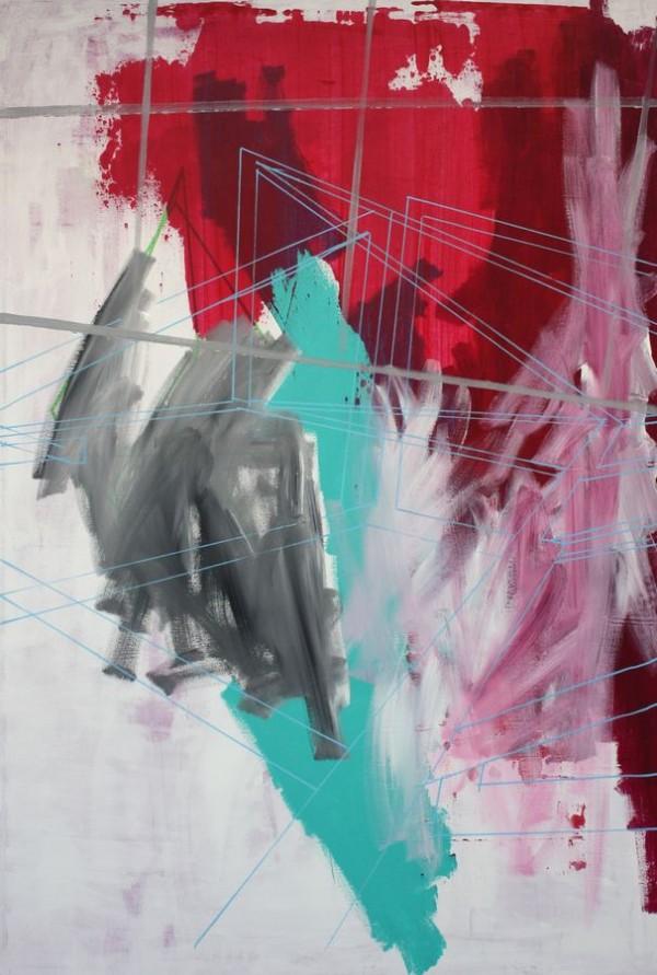 Another babylon  [Acrylic on canvas. 84 x 120 cm. 2012.]