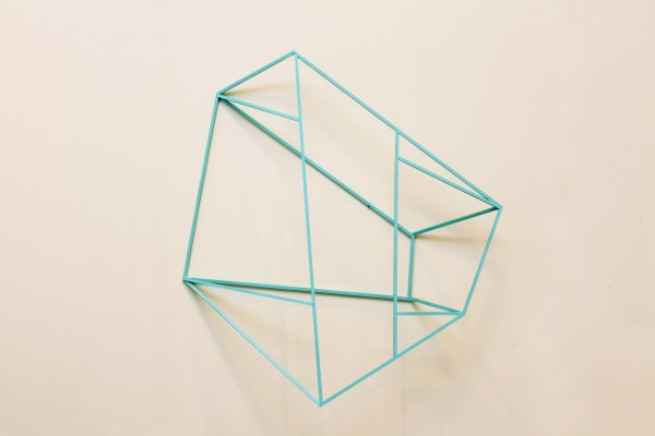 Cube [Wood construction. 101 x 83 x 20,5 cm. 2016.]