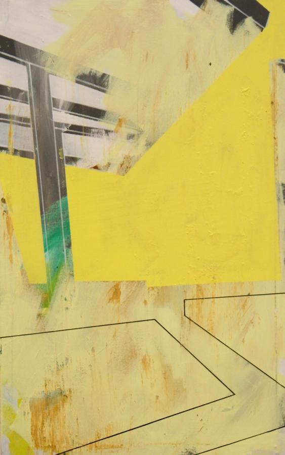 City Daylight  [Acrylic on canvas. 80 x 50 cm. 2015.]