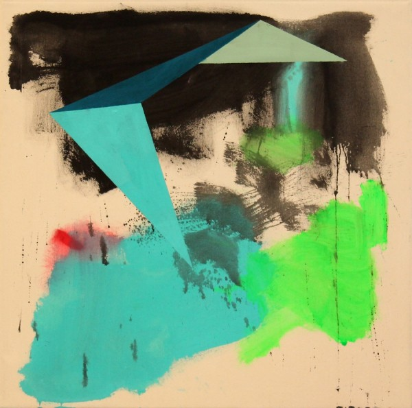 Inside out  [Acrylic on canvas. 75 x 75 cm. 2015.]