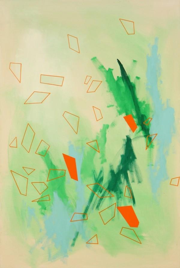 Dropped 02  [Acrylic on canvas. 120 x 80 cm. 2015.]