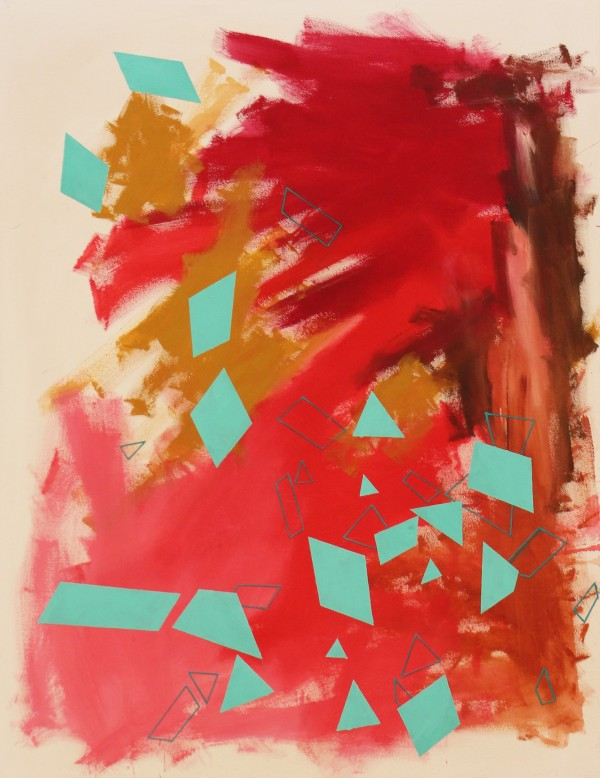 Dropped 01  [Acrylic on canvas. 150 x 100 cm. 2015.]