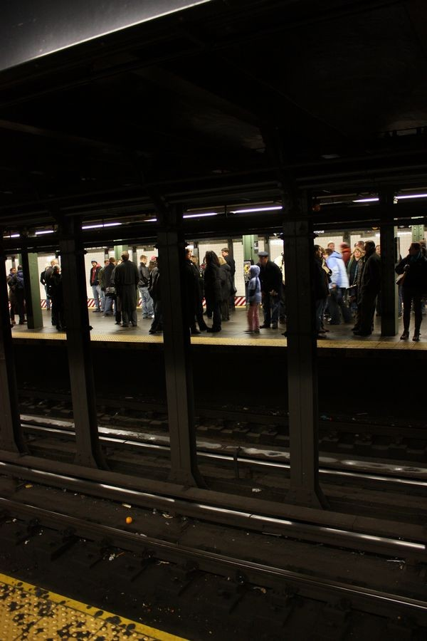Metro 42nd Street, New York, USA.  [2010.]