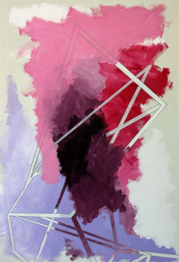 Tower of silence  [Acrylic on canvas. 130 x 90 cm. 2013.]